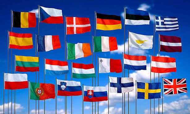 union europea flags1