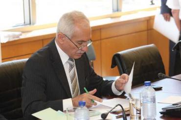 Finance Minister Vassos Shiarly